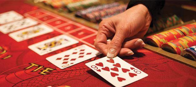 baccarat käsi kortti yhdeksän