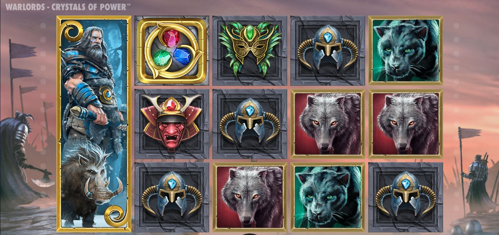 Warlords Crystals of Power kasinopeli